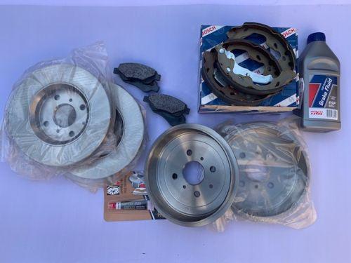 Brake Repair Kit - FULL KIT - Bosch
