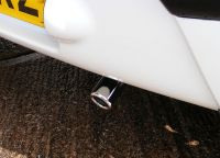 Exhaust Tail Pipe Trim Chrome