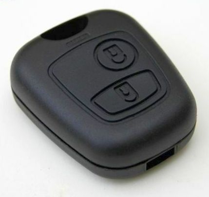 Keyfob Case - 2 Button - C1, 107, Aygo