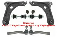 Wishbone Complete Kit - Full Lower Arm Kit