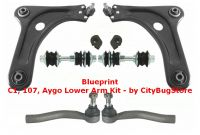 Wishbone Complete Kit - Full Lower Arm Kit